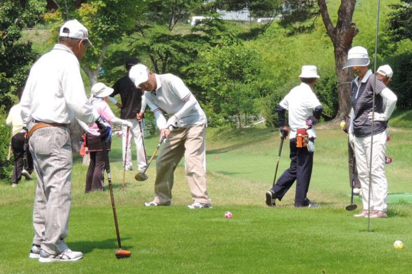 パークゴルフ写真